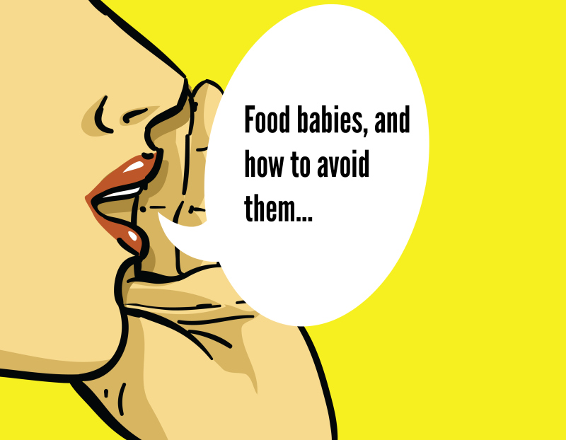 Food Babies & How To Avoid Them